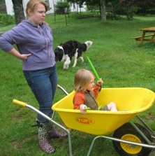 Farm student with Oliver (2)
