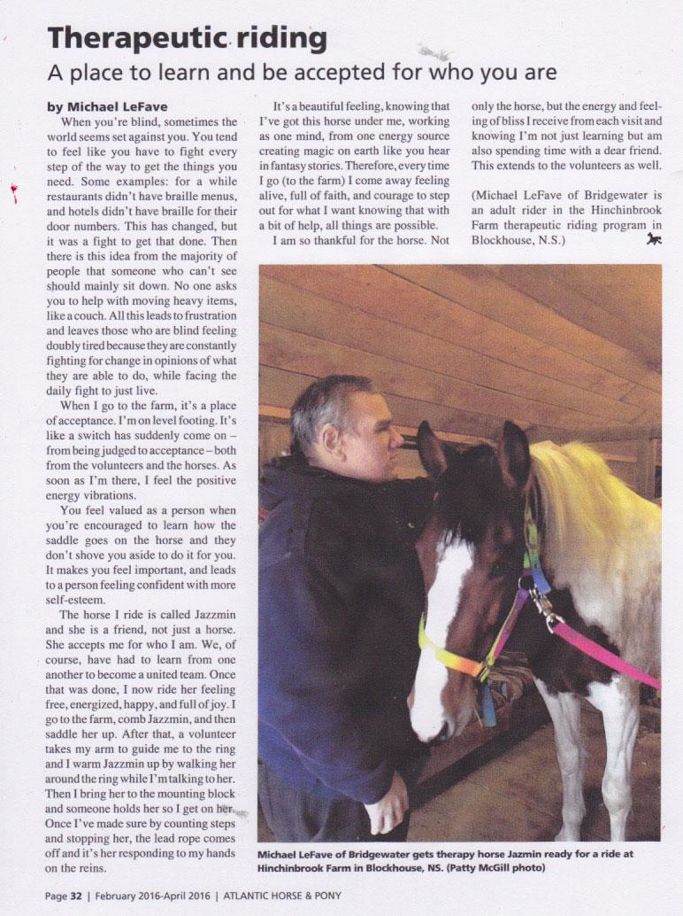 Horse & Pony M LeFave